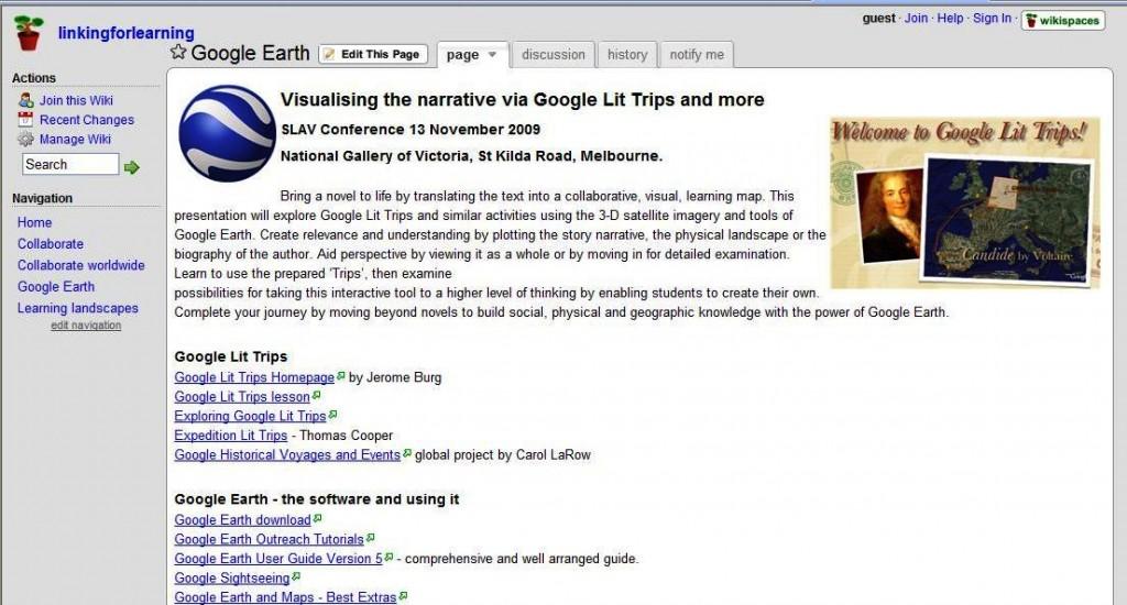 Camillas google earth