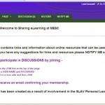 Sharing eLearning at MESC