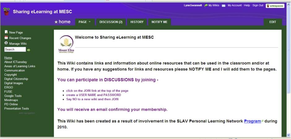 MESC wiki