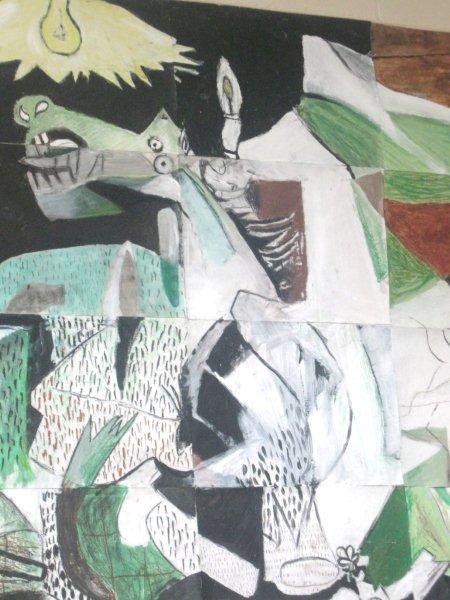 Guernica story through art