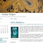 Library dragon!