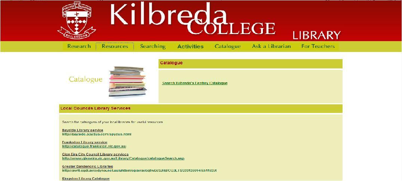 Kilbreda College catalogue
