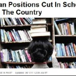 Worth reading - 'Librarian positions cut...'