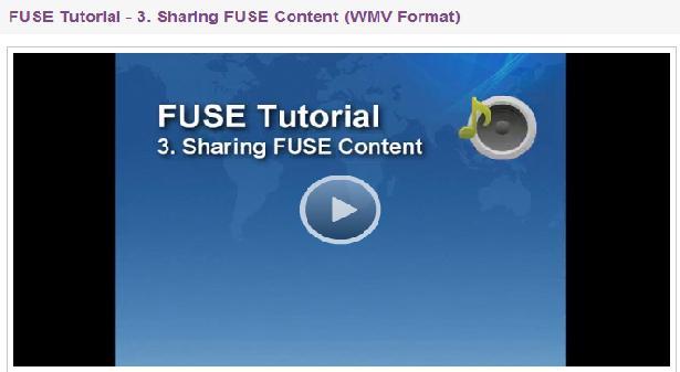 FUSE tutorial 3