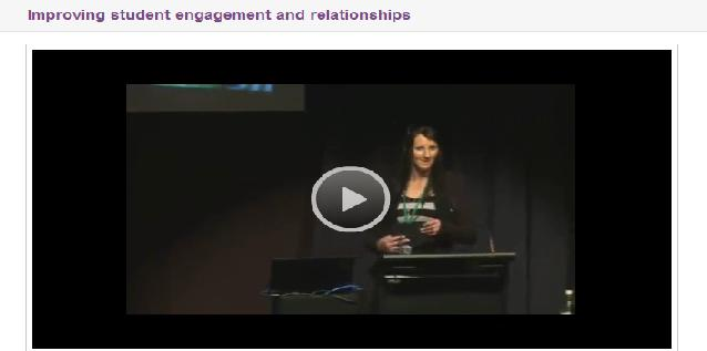 Improving student engagement and relationships - DEECD