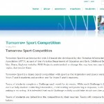 FUSE learning resource: Tomorrow Sport