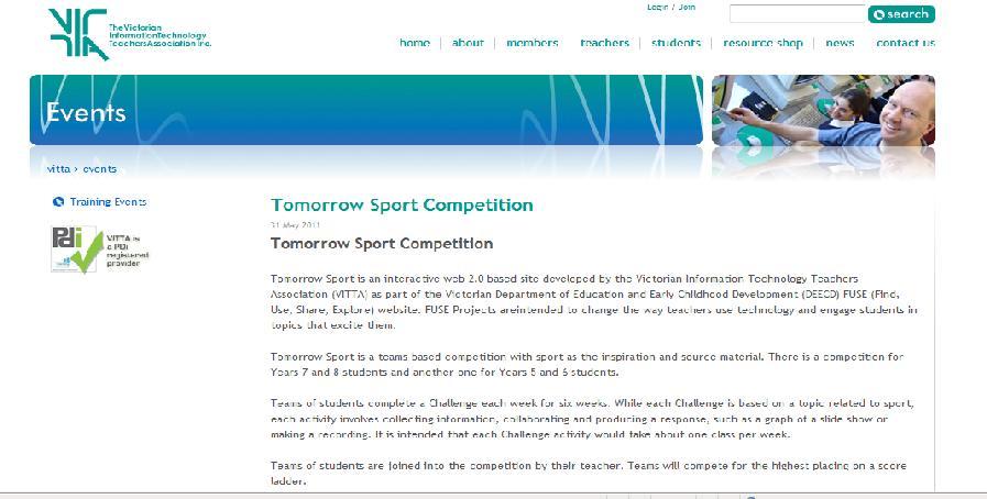 Tomorrow Sport