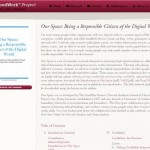 Our space: digital citizenship resources