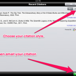 Cite in style with the EasyBib scanner
