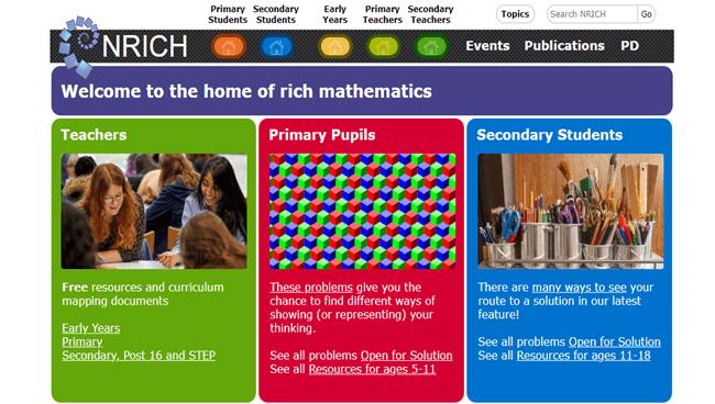 Nrich Maths