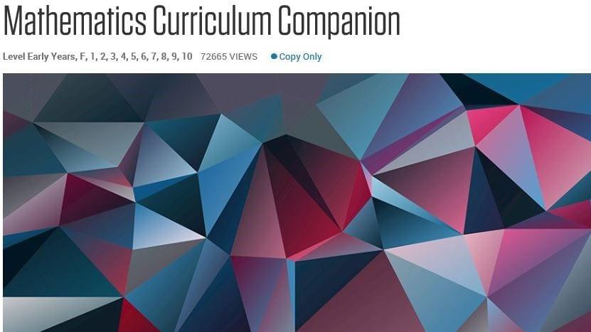 Image of the Mathematics Curriculum Companion