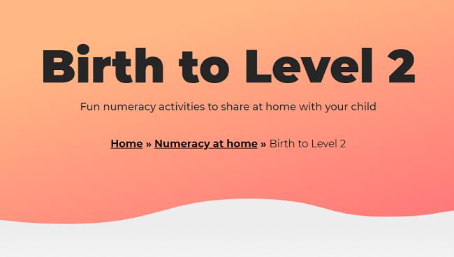 Birth to Level 2