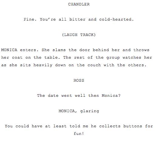 how to write a sitcom