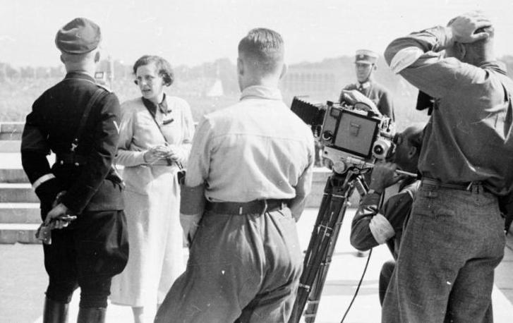 Leni Riefenstahl, German Filmmaker (Source: German Federal Archive)