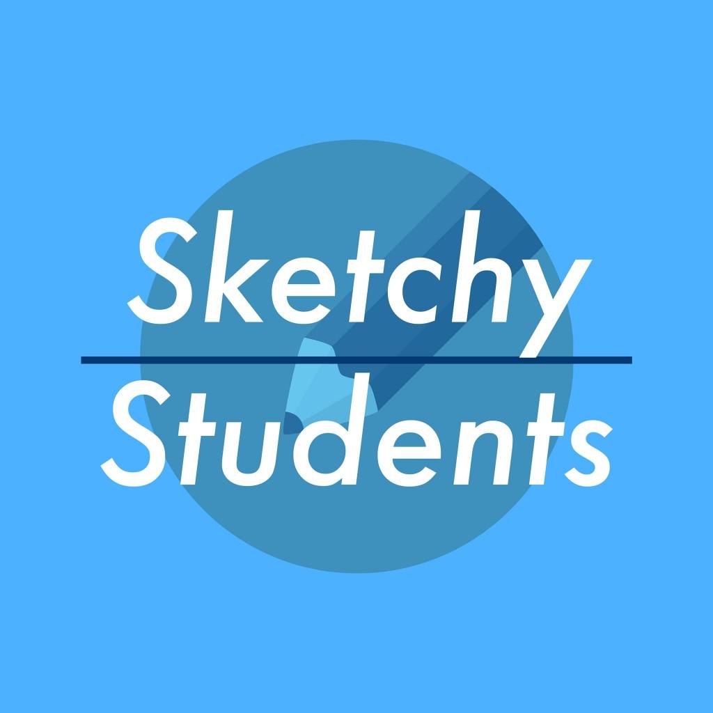 Sketchy Students Logo