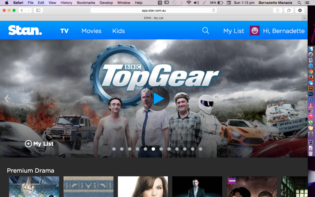 Now, I've already 'collected' all seasons of Top Gear but it being available is a plus for me.