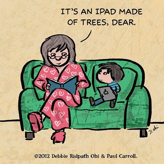 ipad of trees