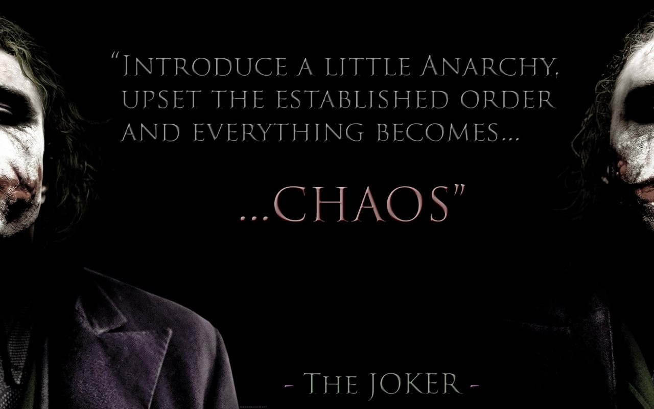 Joker Love Quotes : Double Hs Thoughts The Joker