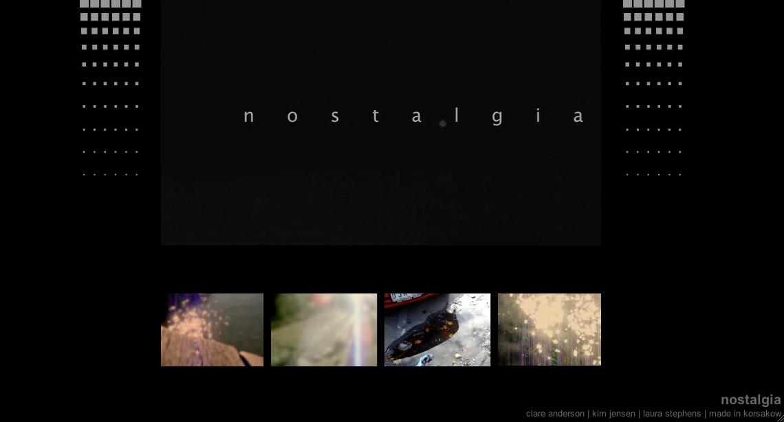 nostalgia narrative essay