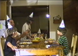 4. Screengrab from an old family video