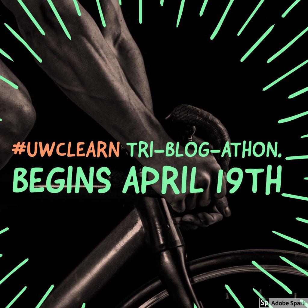 Coming soon...The Tri-blog-athon