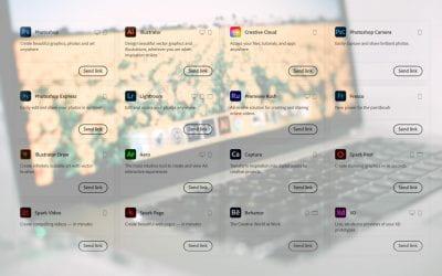 Accessing Adobe Creative Cloud