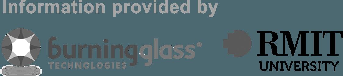 Burning Glass and RMIT University Logo