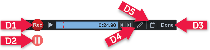 CANVAS – Use ARC to do Screen Capture (screen recordings