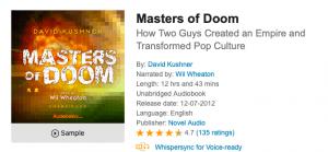 Masters of Doom - Audible