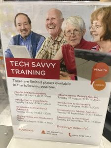 Tech Savvy Seniors Brochure