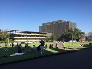 Sydney Uni FIsher Library