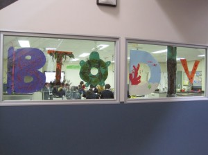 A window into my classrooms