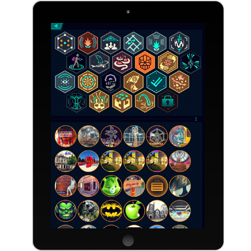 Ingress digital badges