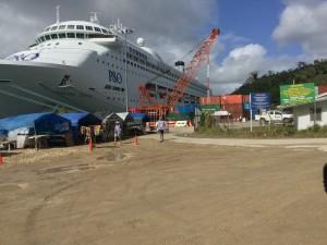 cruise ship port vila vanuatu