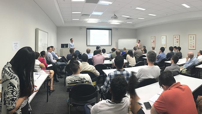 Dr Yang's SMART Seminar Series presentation, at SMART Infrastructure Facility on 28 April 2016.